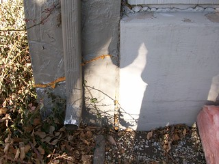 Crack In Porch Column | by Peak Basement Systems