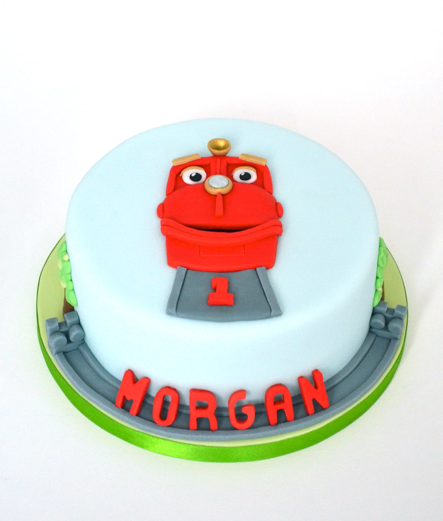 Chuggington Birthday Cake Wilson Rides The Rails Flickr - Chuggington birthday cake