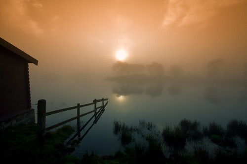 Fog at the Boathouse | by PeterYoung1.