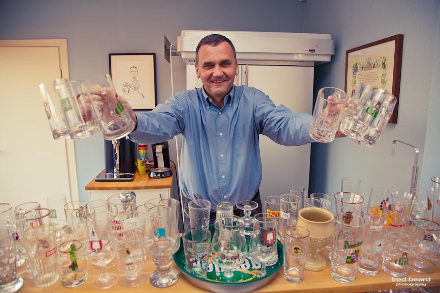 verre a biere collector