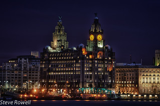 Liver Building By Night | by Steve Rowell Photography