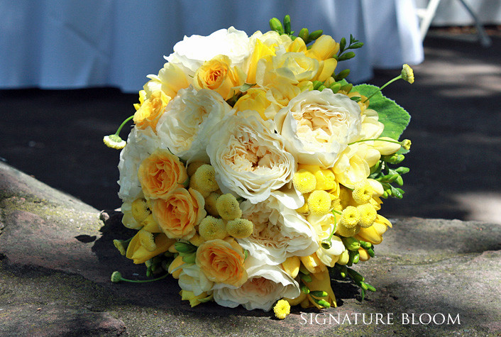 Wedding flowers mountain view yellow and cream bouquet flickr wedding flowers mountain view yellow and cream bouquet by signature bloom mightylinksfo
