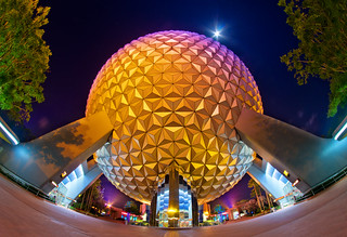 Spaceship Earth Dwarfs the Moon | by Tom.Bricker