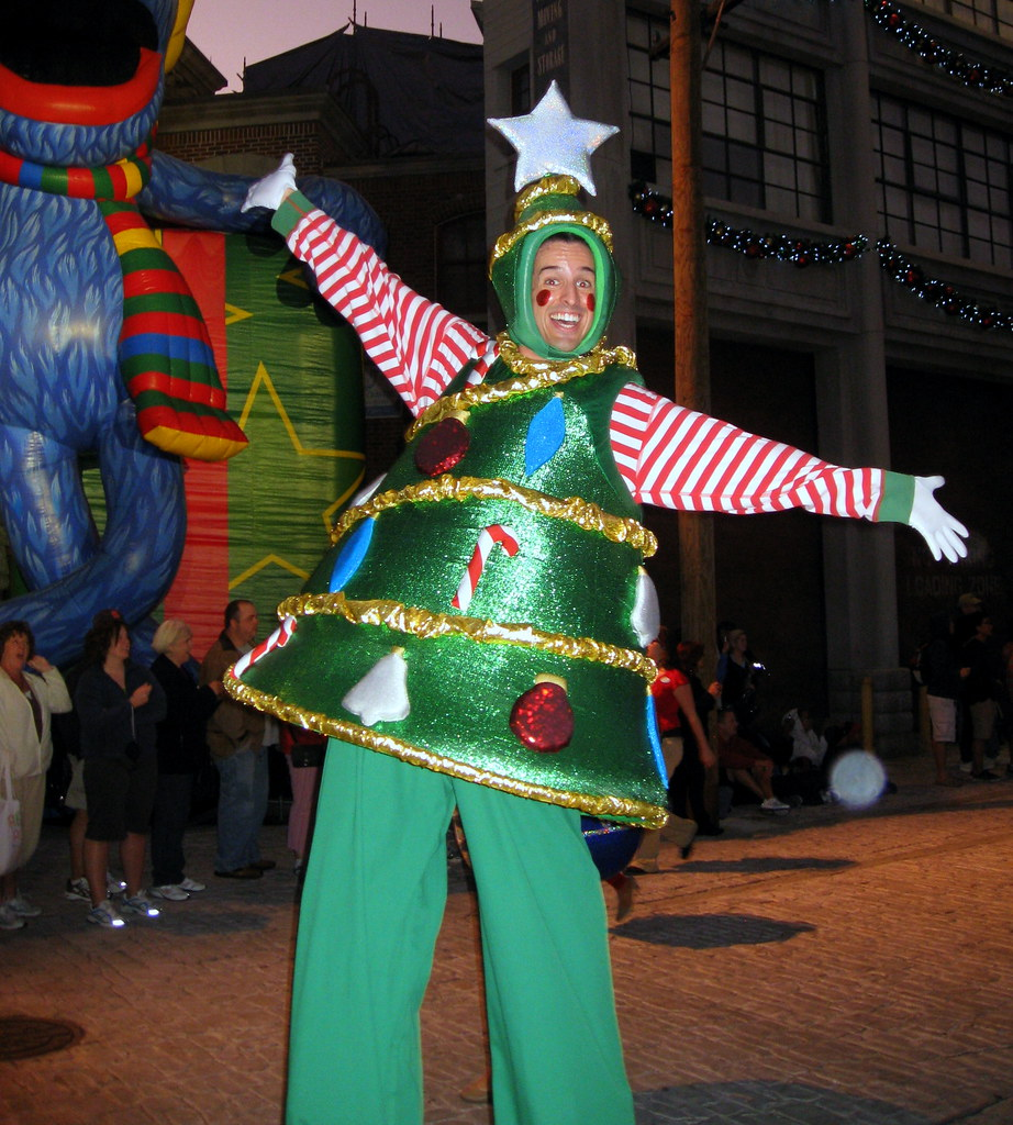 Image result for Christmas Tree costume