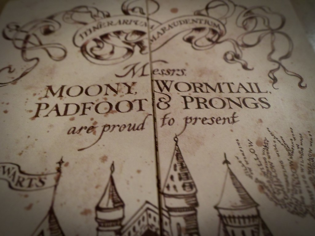 wormtail padfoot moony and prongs