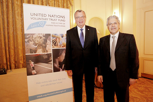 "Launch of ""Victoria Blue Heart Watches"" by UNODC and Backes & Strauss 