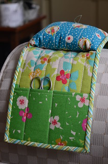 Armrest Pincushion Caddy by Poppyprint | by Poppyprint