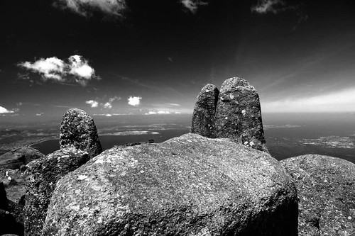 Beautiful Mount Wellington in Tasmania - I thought I would try this in black and white. | by @Raquel