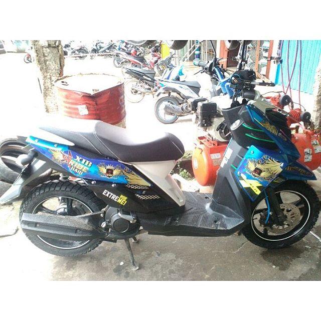 Ganteng Nih Matic X Ride Pak Iyan Setelah Kami Pakein Ban Swallow SB117 80