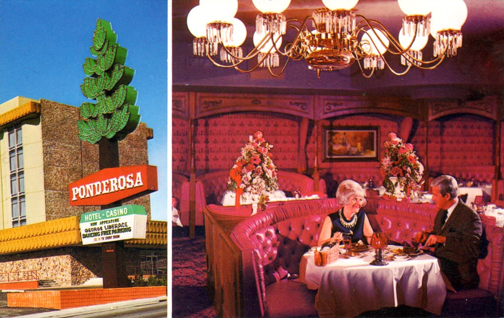 Ponderosa Hotel and Casino - Reno, Nevada