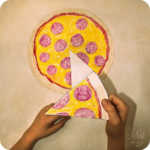 328/365, paper pizza | by CatMacBride