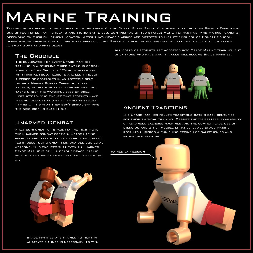 Space Marine Guide: Training | The second part in a series. … | Flickr