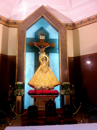 enthroned at the UST chapel main altar | by enzorys_16