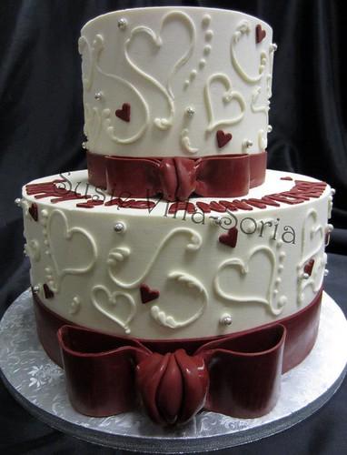 Mini Wedding Cakes Tutorial