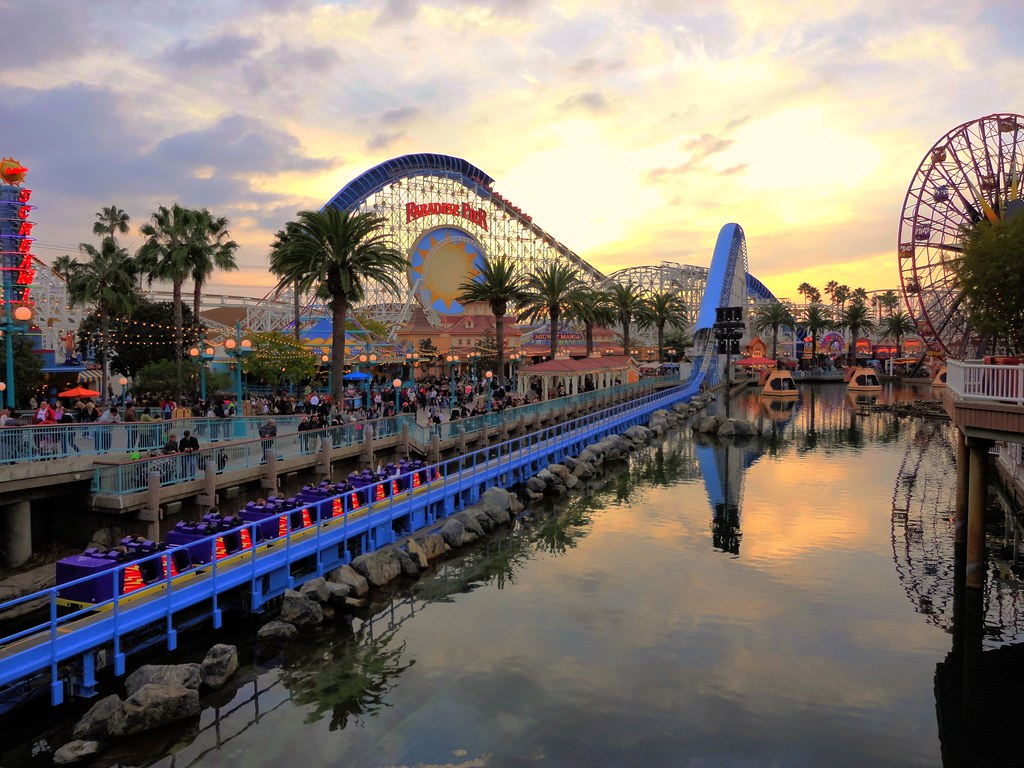 Disneys California Adventure Park A Shot From The Pier Ou Flickr - Disney adventure