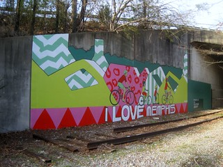 Mural on Greenline - I love Memphis | by joespake