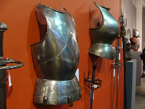 ca. 1470 - 'cavalry breastplate 'alla tedesca', later fauld', Italian (possibly Brescia), Karsten Klingbeil Collection, Pierre Bergé & associés Auction House, Brussels, Belgium | by RO EL (Roel Renmans)