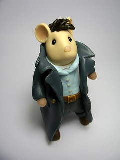 Capt Jack Harkness Mouse from Torchwood | by Quernus Crafts