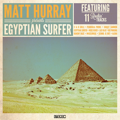 Egyptian Surfer Album Art | by darthwookius