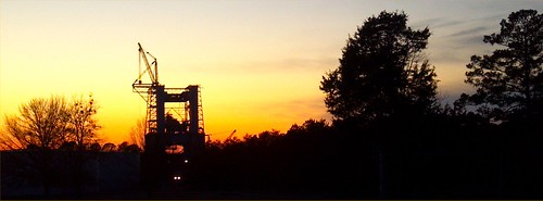 Test Stand at Sunset (NASA, Marshall, 01/18/12) | by NASA's Marshall Space Flight Center