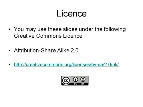 cc-licence-slide | by David Gurteen