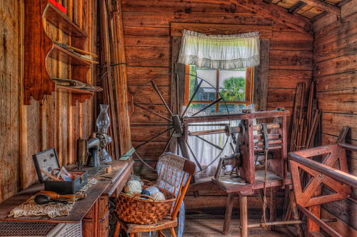Sewing Room in Fort Christmas | by Photomatt28