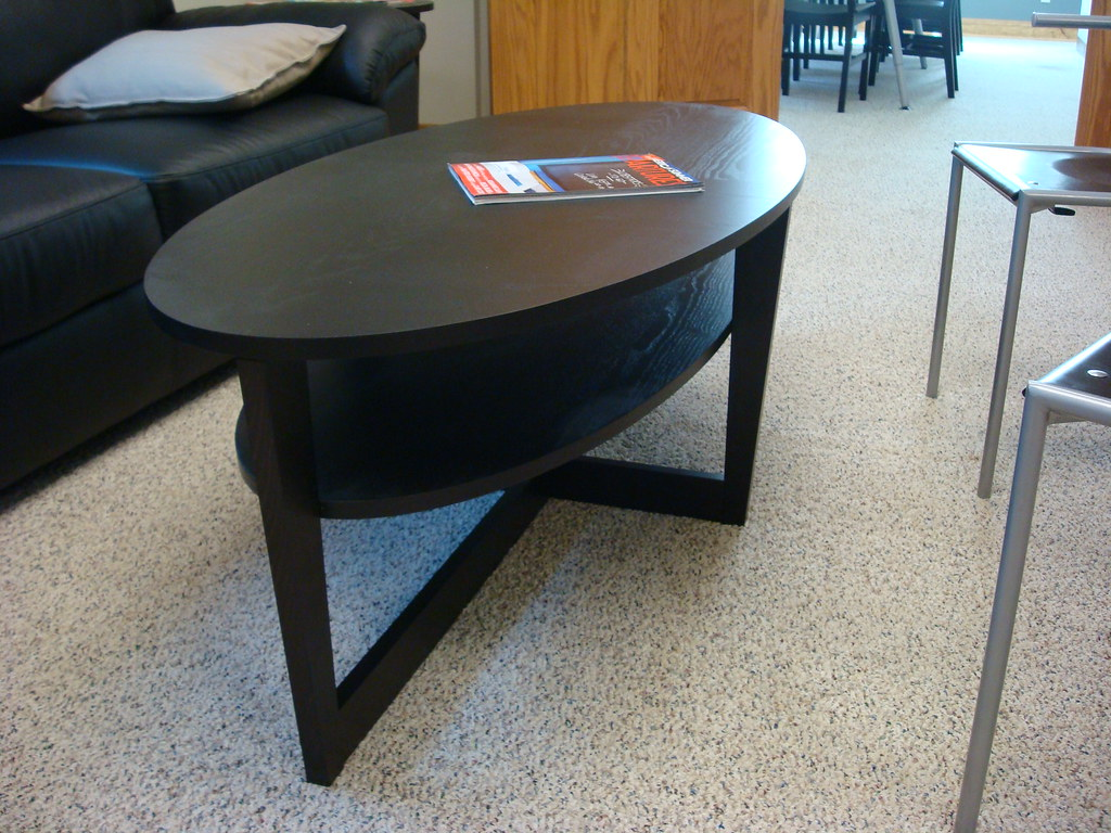 ikea oval coffee table SHMiel Flickr