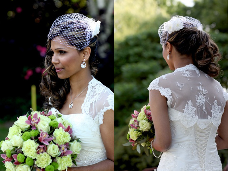 Indian Bridal Hairstyle Sideswept Victoria Flickr