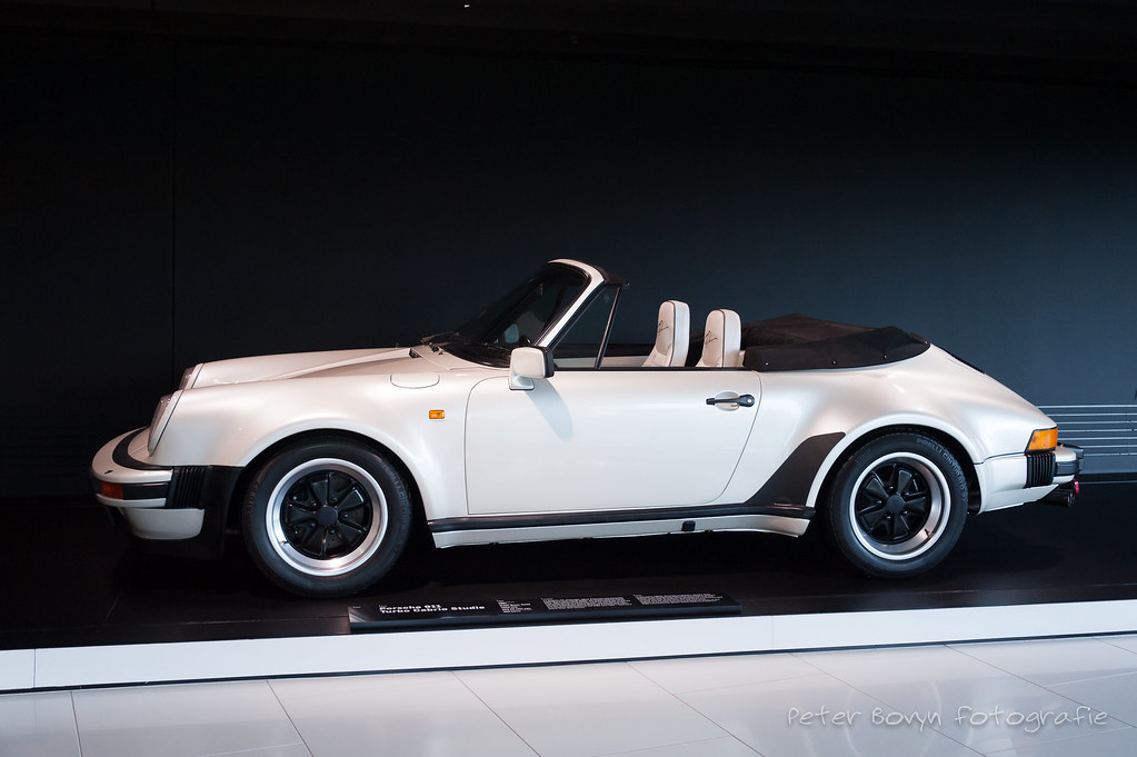 Porsche 911 Turbo Cabriolet Concept 1981 In The Early 19 Flickr