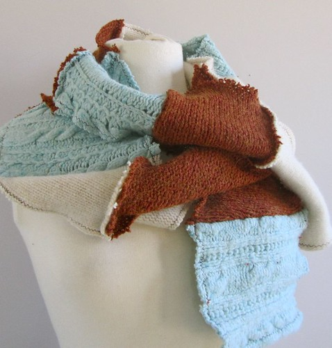 winter shore scarf | by lorigami