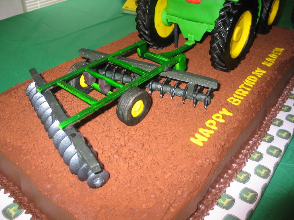 Tractor Cake John Deere 425 Disc 3D John Deere Tractor C Flickr