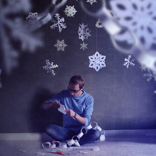 One Man Snowflake Factory | by Boy_Wonder