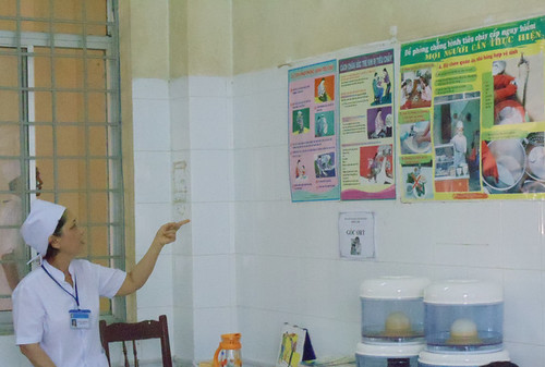 Educational posters in the pediatric ward | by defeatDD.org