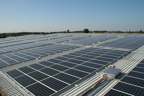 rooftop solar panels | by h080