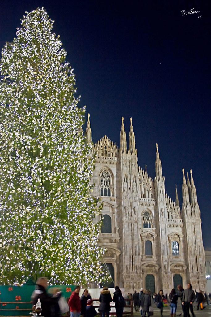 Albero Di Natale Milan.Milan Duomo Albero Di Natale Giovanni Mauri Flickr