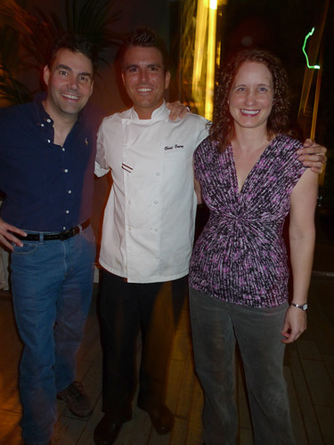 Chef Chris Crary w Dave & Lisa | by MyLastBite