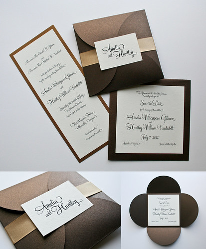 Amelia Wedding Invitations | by Hitchcock Creative