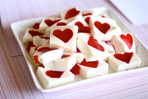Jello Hearts | by Hungry Housewife
