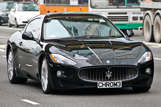 Maserati GranTurismo, Causeway Bay, Hong Kong | by Nikhil Sadhwani - Photography