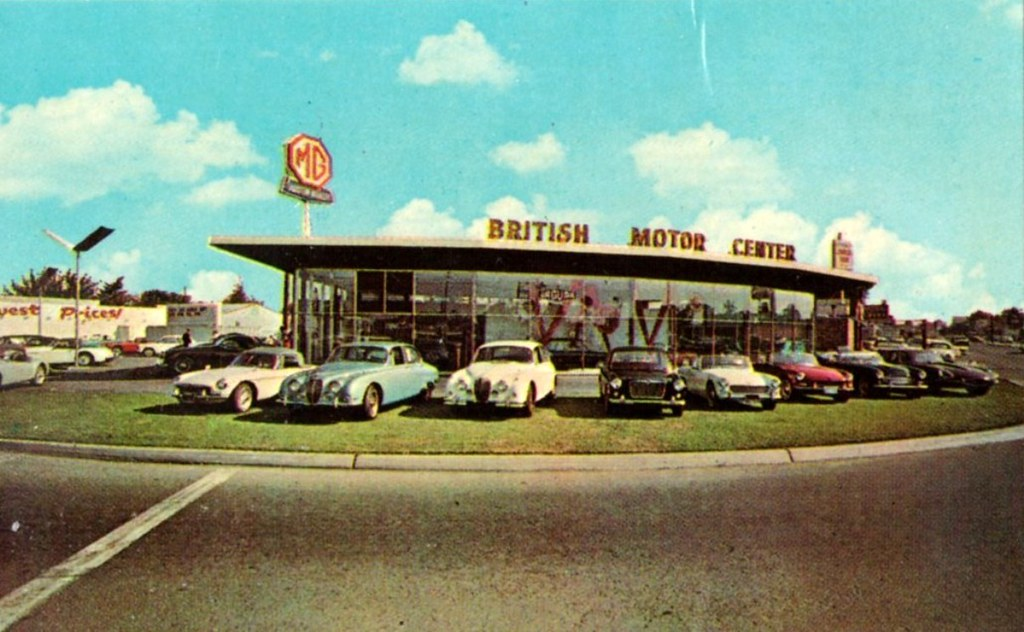 ... British Motor Center Ltd., San Jose CA, MG, Jaguar, Austin |