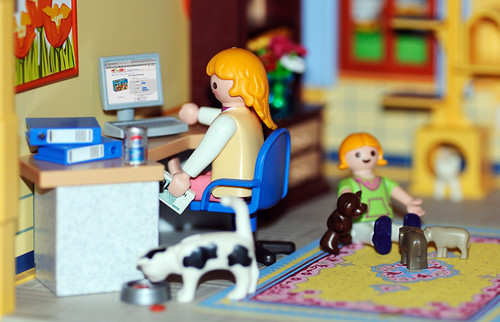 Mummy's buying Playmobil again. | by ryme-intrinseca, Facebook - BeckyStaresPhotography