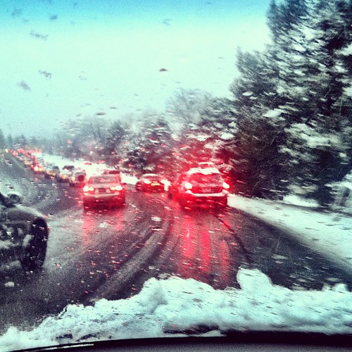 Snowstorms and traffic jams, not my favorite things | by Completely Delicious