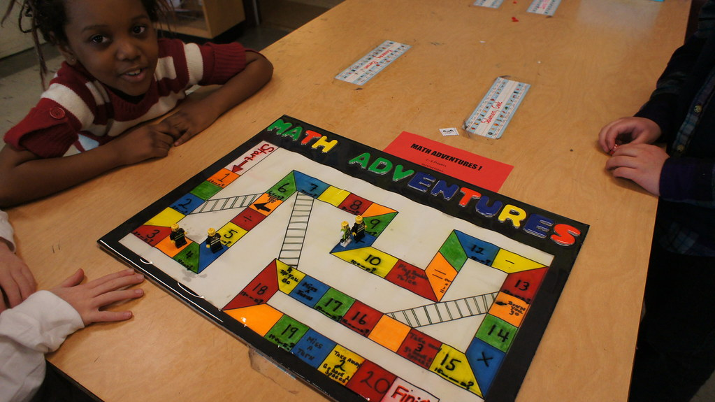 2nd grade student made board games meriwether lewis elementary