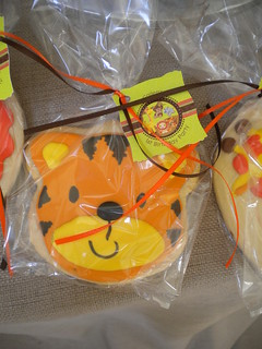 Safari Birthday Cookie Favor | by www.FlourGirlDesigns.com