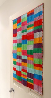 Solid Values patchwork quilt | by Cottilello