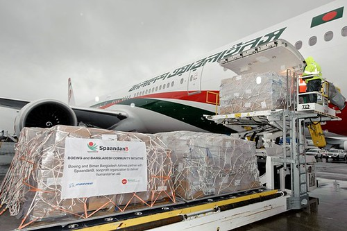 Boeing Delivers Second 777-300ER to Biman Bangladesh Airlines | by The Boeing Company
