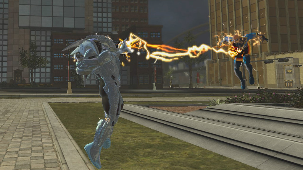 dc universe online lightning strikes for ps3 new dc unive flickr