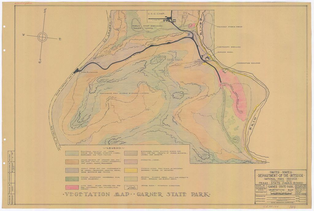 Garner State Park - Vegetation Map - SP.42.144 | Vegetation … | Flickr