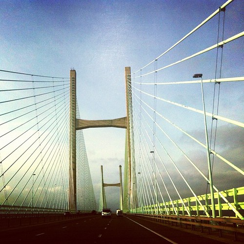 Homeward bound from Wales. The Severn Bridge | by djannakiss