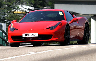 Ferrari, 458, Italia, Causeway Bay, Hong Kong | by Daryl Chapman Photography
